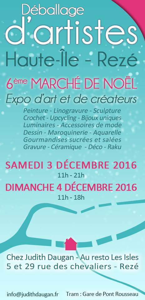 6ème Marché de Noël de REZÉ - Haute-Ile