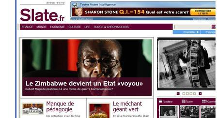 Slate.fr : un nouveau site d'information est né