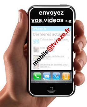 Envoyez-nous les images de votre mobile !