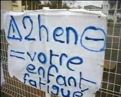 Grève d'enseignants dans les écoles le 24 novembre