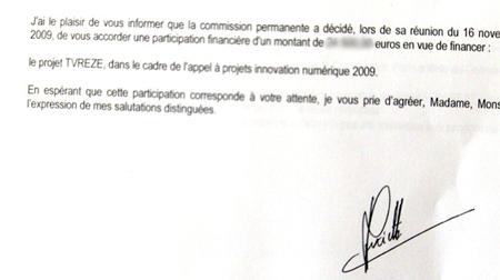 TVREZE innovation numérique 2009