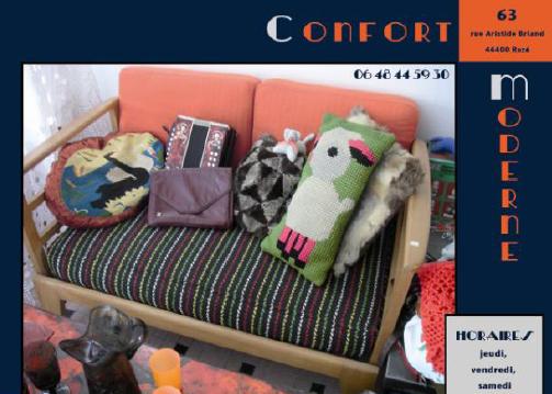 Inauguration du Confort Moderne