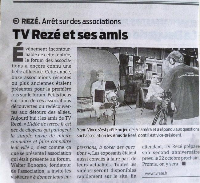 Anniversaire TVREZE : appel au soutien des commerçants