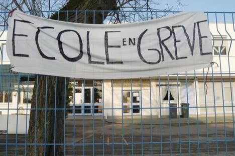 Grève dans les écoles le 14 octobre
