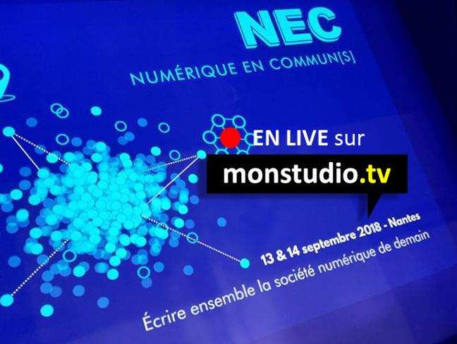 Numérique en Commun en LIVE sur Monstudio.tv