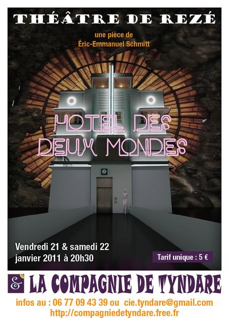 """""""Hôtel des deux mondes"""" au théâtre de Rezé"""