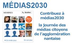 Contribuez à Médias 2030, le rendez-vous des médias citoyens de l'agglomération nantaise