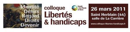 Colloque : Libertés & handicaps