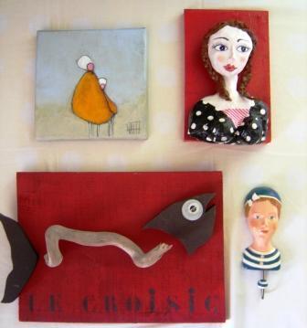 Déballage d'artistes à Trentemoult