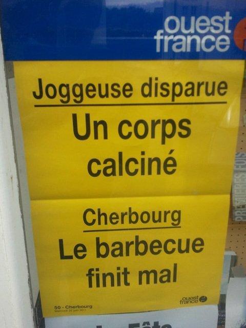 Quand Ouest-France s'enflamme sur ses affichettes