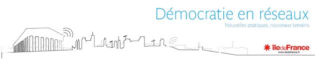 TVREZE invitée de Démocratie en réseaux, initiée par la Région île de France