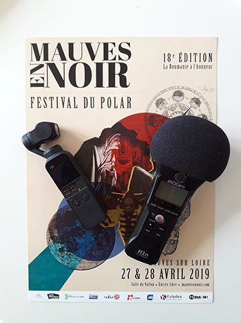 Interview de Gilles SEBHAN à Mauves en Noir