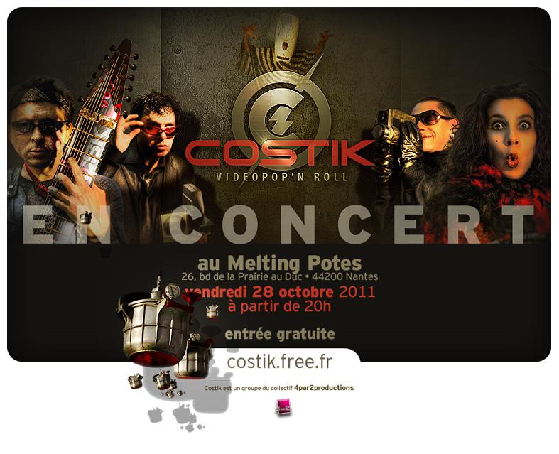 Costik en concert