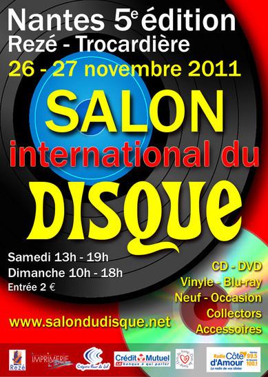 5e Salon international du disque de Nantes
