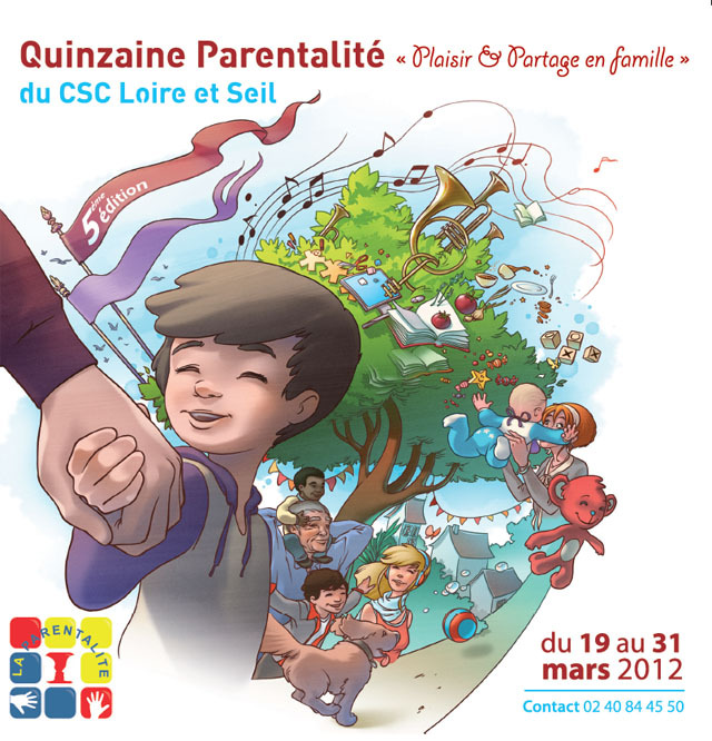 Un mois pour les parents et les enfants du 2 au 31 mars