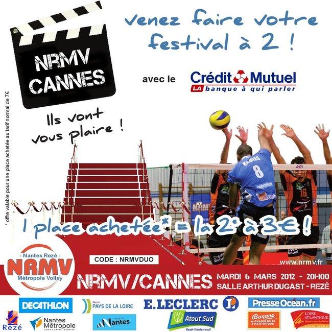 NRMV / Cannes, le mardi 6 mars