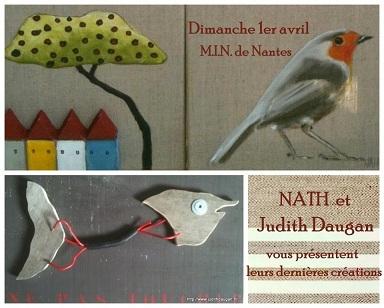 Dimanche 1er avril, NATH et Judith Daugan vous présentent leurs dernières créations.