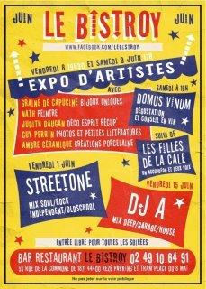 Expo et Filles de la Cale au Bistroy!