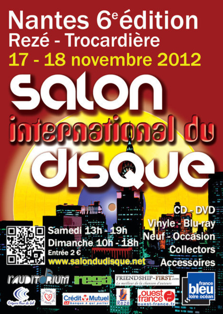 6e salon international du disque de Nantes