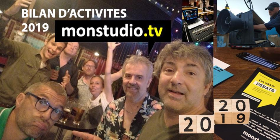 MonstudiotV : Le bilan d'activités 2019