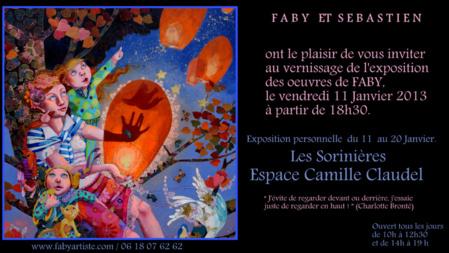Les toiles de Faby