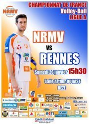 Le NRMV reçoit Rennes