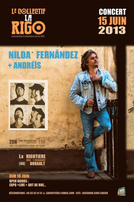 15 juin 2013 Concert Nilda Fernandez