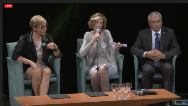 Nicole Bricq, Ministre du Commerce extérieur, en direct sur TVREZE