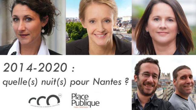 Retrouvez les temps-forts du grand débat : Quelle(S) nuit(S) pour Nantes ?