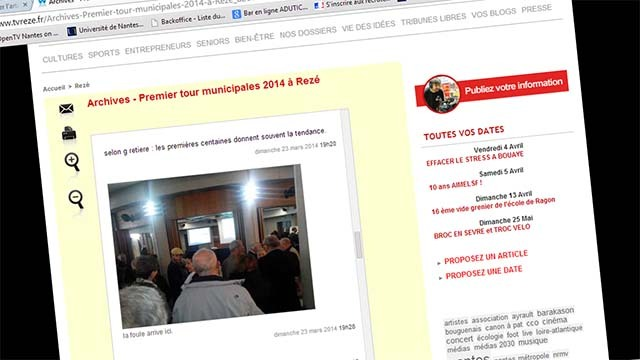 Archives - Premier tour municipales 2014 à Rezé