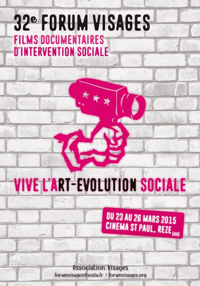 32 ème Forum audiovisuel d'interventions Sociales - VISAGES