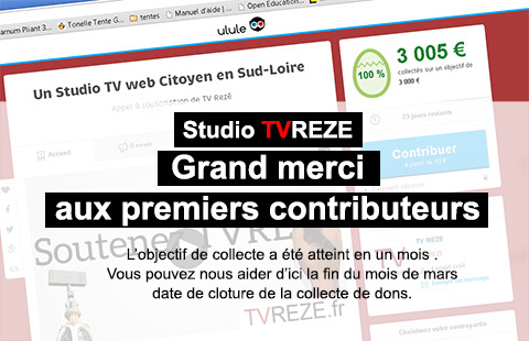 Campagne de financement du studio : Merci !
