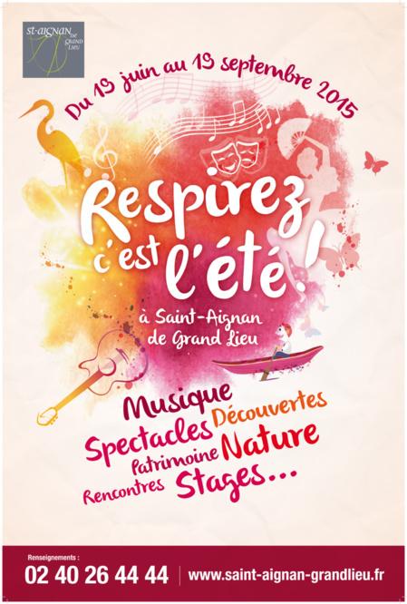 Respirez, c'est l'été à Saint-Aignan de Grand Lieu !