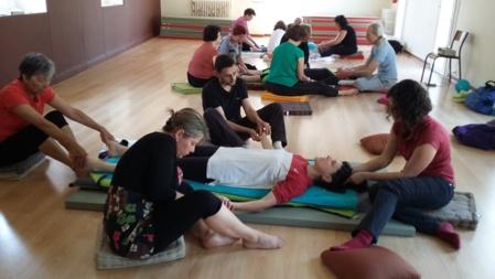 Atelier relaxation et massage bien-être des mains