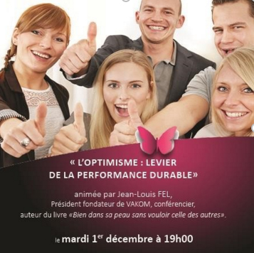 L'optimisme, levier de la performance durable
