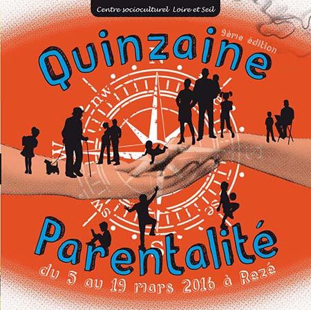 La quinzaine parentalité du CSC Loire et Seil est de retour pour sa 9ème édition du 5 au 19 mars 2016