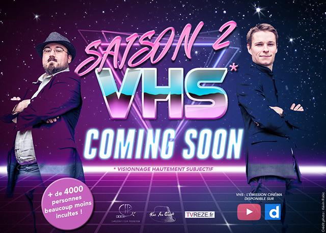 VHS - Suivez bientôt la saison 2 sur TVREZE