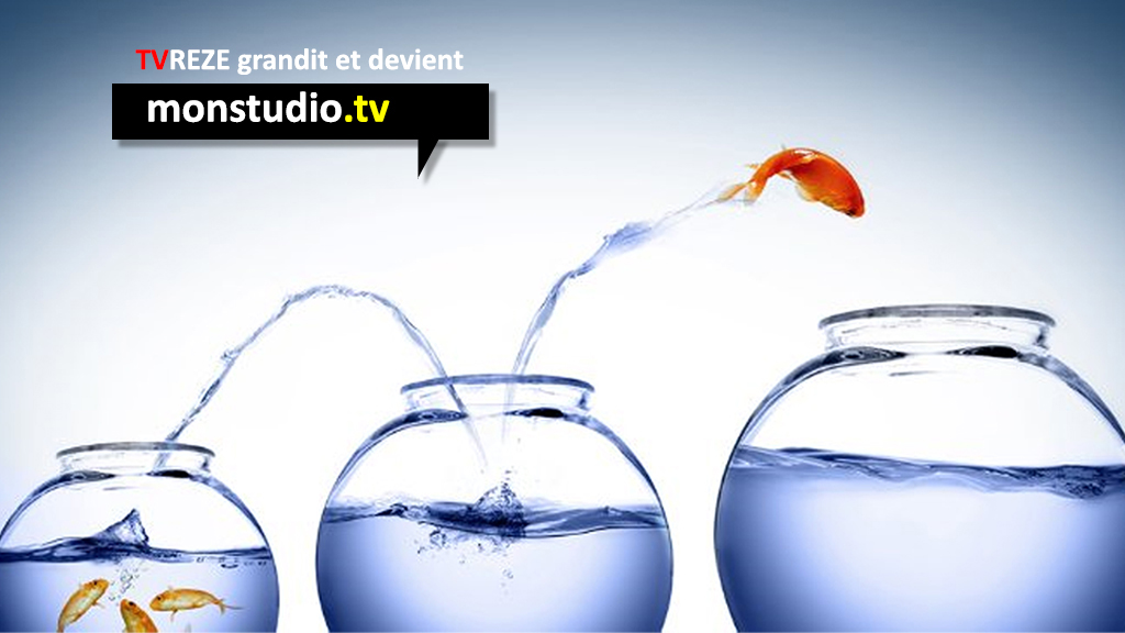 TVREZE.fr grandit et devient Monstudio.tv