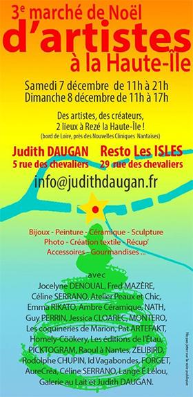 3ème marché de Noël à Haute-île