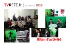 TVREZE : le bilan 2016