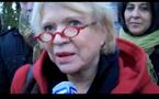 """L'euro-députée Eva Joly évoque """"l'affaire Karachi"""" à Malakoff (Nantes)"""