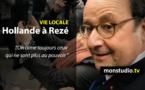 François Hollande en déplacement à Rezé