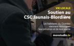Café-solidaire au CSC Jaunais-blordière