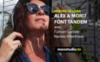 Débord de Loire : Alex et Mori7 font tandem