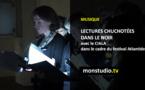 Lectures chuchotées dans le noir