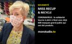 Miss recup et Recycle fait des masques