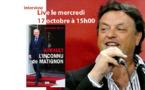 Interview Live de Jean-Marie Biette, journaliste