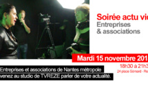 Soirée actus vidéo entreprises et associations