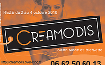 TVREZE.fr présent à Creamodis