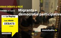 Les vrais débats à Rezé : migrants + démocratie participative